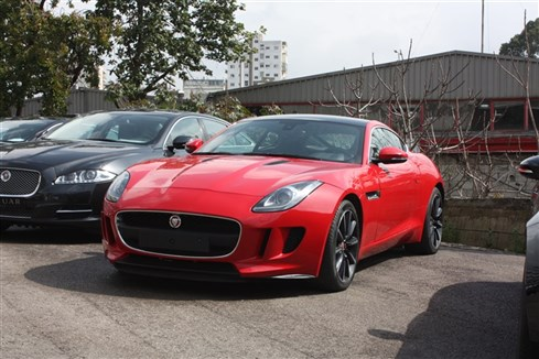 F-TYPE 2015 RED